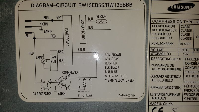 Advice needed on byping thermostat on fridge for ... on